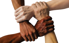 Image of Linked hands